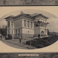 CAMPULUNG, VILA A. MIREA, CIRCULATA - Carte Postala Muntenia 1904-1918, Fotografie