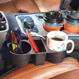 Suport depozitare auto pahare si accesorii Car Valet - Baterie externa