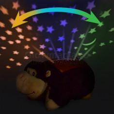 Lampa muzicala maimuta cu proiectie stele si luna