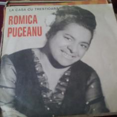 DISC VINIL ROMICA PUCEANU - LA CASA CU TRESTIOARA - Muzica Lautareasca