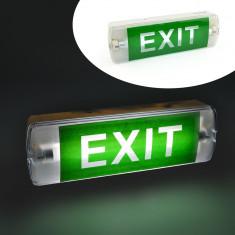 Lampa semn de siguranta cu acumulator T5, semn EXIT - Corp de iluminat, Iluminat industrial si birouri
