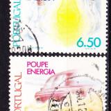 Timbre PORTUGALIA 1980 = ECONOMISIREA ENERGIEI - Timbre straine, Stampilat