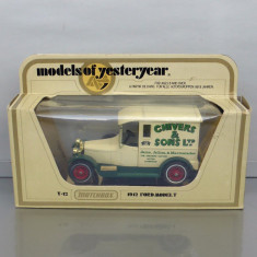Talbot 1927 Chivers & Sons, Matchbox Yesteryear - Macheta auto