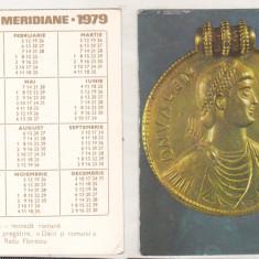 Bnk cld Calendar de buzunar Editura Meridiane 1979