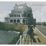 3279 - CONSTANTA, Faleza - old postcard - used - 1922