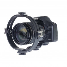 Flash light holder O-type Patina pentru 2 blitzuri sau alte accesorii pe patina - Echipament Foto Studio