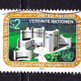 Timbre NATIUNILE UNITE - VIENA - Timbre straine, Stampilat