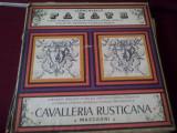 DISC VINIL LEONCAVALLO PAIATE-CAVALLERIA RUSTICANA 3 VINIL