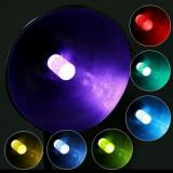Bec decorativ cu LED E27 3W multicolor si control telecomanda
