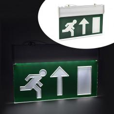 Panou de siguranta LED, semn EXIT sus