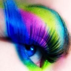 Farduri de ochi si fata UV Neon fluorescente pentru efecte speciale