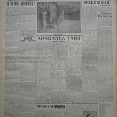 Cuvantul , ziar legionar , 6 Aprilie 1933 , art. Mihail Sebastian , Nae Ionescu