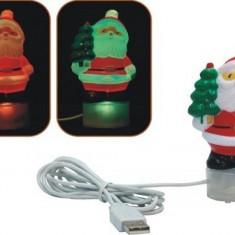 Mos Craciun USB pentru birou - Ornamente Craciun