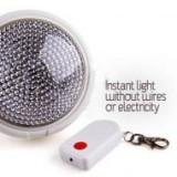 Bec dotat cu telecomanda Remote Brite Light, Becuri LED