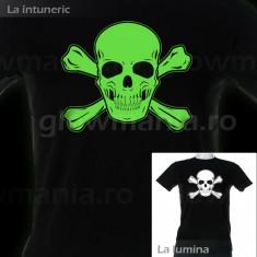 Tricou luminescent Craniu pentru petreceri