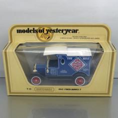 Ford Model T 1912 Potato Crisps, Matchbox Yesteryear - Macheta auto