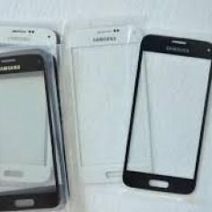Geam Samsung Galaxy S5  ecran nou original negru + folie sticla