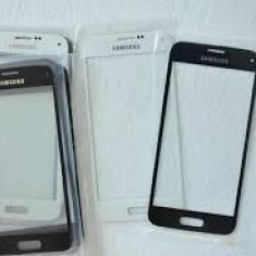 Geam Samsung Galaxy S5 ecran nou original negru + folie sticla - Geam carcasa