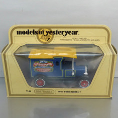 Ford Model T 1912 Custard Powder, Matchbox Yesteryear - Macheta auto