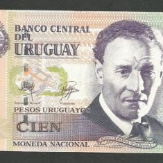 URUGUAY 100 PESOS 2011 XF++ [1] P-88c - bancnota america
