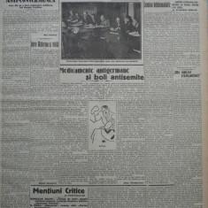 Cuvantul, ziar legionar, 9 Aprilie 1933, art. Mihail Sebastian, Nae Ionescu