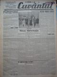 Cuvantul , ziar legionar , 13 Aprilie 1933 , art. Mihail Sebastian , Nae Ionescu