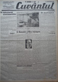 Cuvantul , ziar legionar , 20 Apr. 1933 , artic. Mihail Sebastian , Nae Ionescu