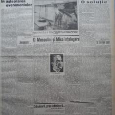 Cuvantul, ziar legionar, 20 Apr. 1933, artic. Mihail Sebastian, Nae Ionescu