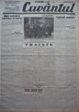 Cuvantul , ziar legionar , 22 Apr. 1933 , artic. Nae Ionescu , Mihail Sebastian