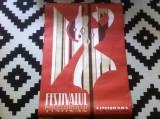 Festivalul folclorului timisan timisoara 24-28 mai 1972 RSR afis romanesc banat