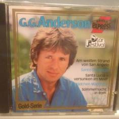 G.G.ANDERSON - STAR FESTIVAL (1987/BMG ARIOLA REC/RFG) - ORIGINAL/NOU/SIGILAT - Muzica Dance ariola, CD