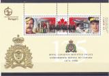 Uniforme ,emblema ,politia regala montana ,Canada ., Nestampilat