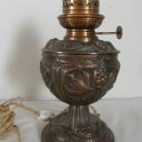 LAMPA DIN ANTIMONIU CUPRAT, VECHE