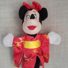 M- Mickey Mouse Minnie in kimono japonez, Disney, 18cm, McDonalds 2000, plus - Jucarii plus