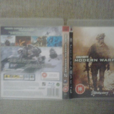 Call of duty - Modern Warfare 2 - MW2 - PS3 - Jocuri PS3, Shooting, 18+, Multiplayer