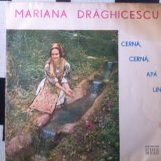 Mariana draghicescu cerna cerna apa lina disc vinyl lp muzica populara banat, VINIL, electrecord