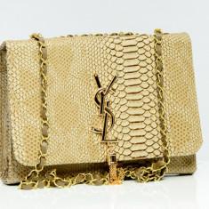 Geanta / Poseta tip plic de umar Yves Saint Lauren YSL + Cadou Surpriza - Geanta Dama Yves Saint Laurent, Culoare: Din imagine, Marime: Medie, Geanta plic, Asemanator piele