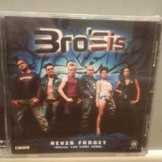 BROSIS - NEVER FORGET (2002/POLYDOR REC/GERMANY) - ORIGINAL/NOU/SIGILAT - Muzica Pop universal records, CD