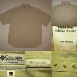 Camasa COLUMBIA ( XL) barbati maneca scurta vara outdoor tura treking