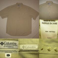 Camasa COLUMBIA ( XL) barbati maneca scurta vara outdoor tura treking - Camasa barbati Columbia, Culoare: Din imagine
