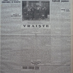 Cuvantul, ziar legionar, 22 Apr. 1933, artic. Nae Ionescu, Racoveanu