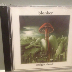 BLONKER - STRAIGHT AHEAD (2002/ACOUSTIC REC/GERMANY) - ORIGINAL/NOU/SIGILAT - Muzica Ambientala universal records, CD
