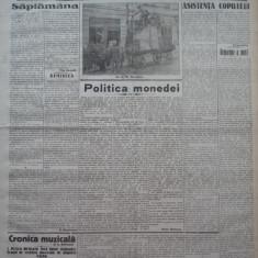 Cuvantul, ziar legionar, 24 Aprilie 1933, art. Racoveanu, Perpessicius