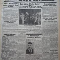 Cuvantul, ziar legionar, 19 Aprilie 1933, editie speciala de Paste