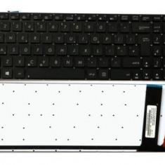 Tastatura laptop Asus N56 iluminata UK