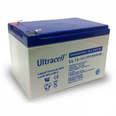ULTRACELL Acumulator UPS ULTRACELL UL12V12AH, 12V 12Ah