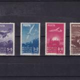 ROMANIA 1948, LP 238, AVIATIA SERIE MNH - Timbre Romania, Nestampilat