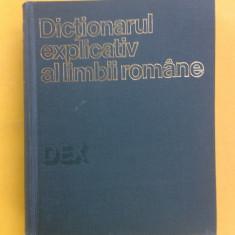 DEX DICTIONARUL EXPLICATIV AL LIMBII ROMANE An ap 1975 + SUPLIMENT an 1988