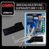 Briceag multifunctional kit supravietuire 11 in 1 - CRD-LAM66142