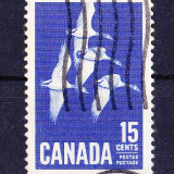 Timbre CANADA 1963 = GASTE CANADIENE - Timbre straine, Stampilat